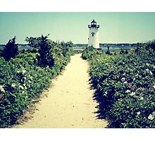 Edgartown Lighthouse, Martha's Vineyard Photographic Print