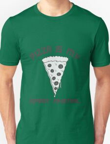 Pizza Is My Spirit Animal funny nerd geek geeky Unisex T-Shirt