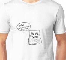 Walter The Seductive Bag of Potato Chips Unisex T-Shirt