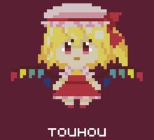 Flandre Scarlet Pixels Tee by Astrotoast