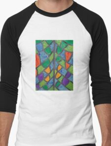 Pattern of Butterfly Wings  Men's Baseball ¾ T-Shirt