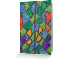 Pattern of Butterfly Wings  Greeting Card