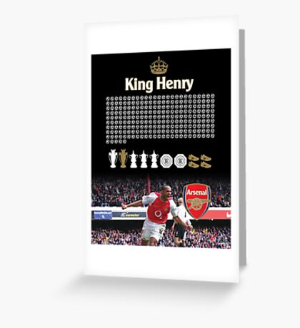 King Henry Greeting Card