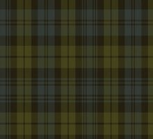 00014 Campbell Clan Tartan Fabric Print Iphone Case by Detnecs2013