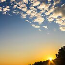 Sunrise Over The Bluffs by Mikell Herrick