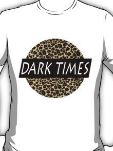 Dark Times Leopard Logo T-Shirt