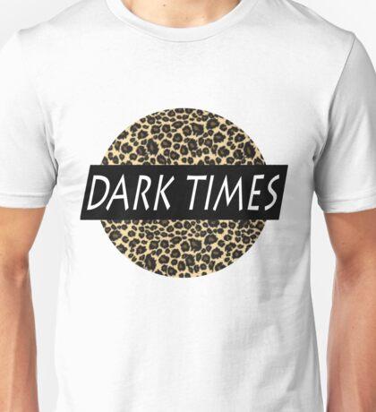 Dark Times Leopard Logo Unisex T-Shirt