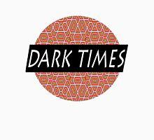 Dark Times Patterned Logo Unisex T-Shirt