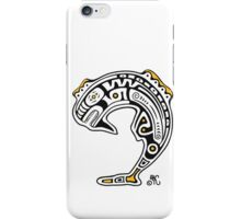 Tribal Whale 1 iPhone Case/Skin