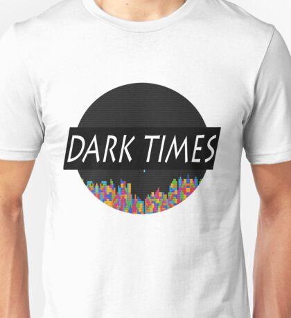 Dark Times Tetris Logo Unisex T-Shirt