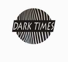 Dark Times Zebra Print Logo by traaavz
