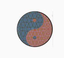 Pattern Print Yin Yang by traaavz