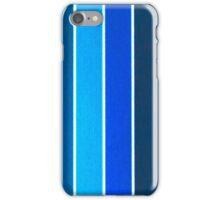 Blue stripes iPhone Case/Skin