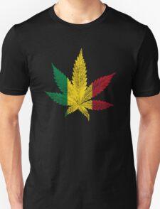 Rastafari Cannabis Leaf T-Shirt