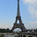 The Famous Eiffel Tower by rjonesphotos