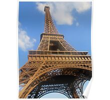 The Famous Eiffel Tower 2 Poster