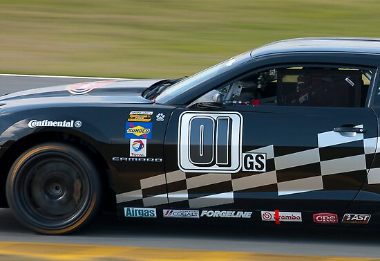 """Continental Tire Challenge Camaro - """"A Day at the Office"""" by Timothy Meissen"""