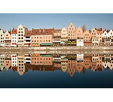 Gdansk River Photographic Print