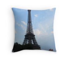 Eiffel Tower 3 Throw Pillow