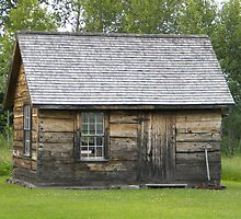 Old Small Building by TCbyT