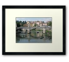 Italian Waters Framed Print