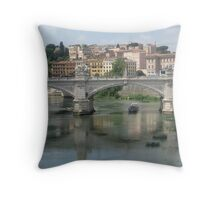 Italian Waters Throw Pillow