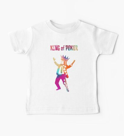 King of Poker colored Baby Tee