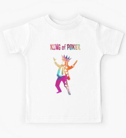 King of Poker colored Kids Tee