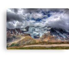 Mount Athabasca Canvas Print