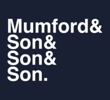 Mumford & Sons Kids Clothes