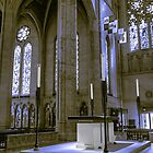 Altar, Grace Cathedral by James Watkins