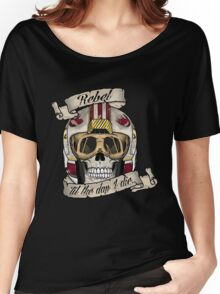 Rebel for Life Women's Relaxed Fit T-Shirt