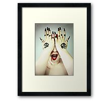 Blind Sight Framed Print