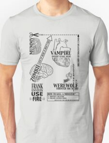 How to Kill a Monster T-Shirt