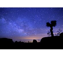 Milky Way Morning in Joshua Tree  Photographic Print