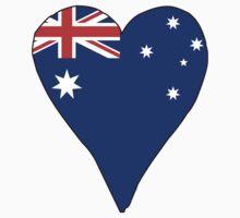 I Heart Australia One Piece - Short Sleeve