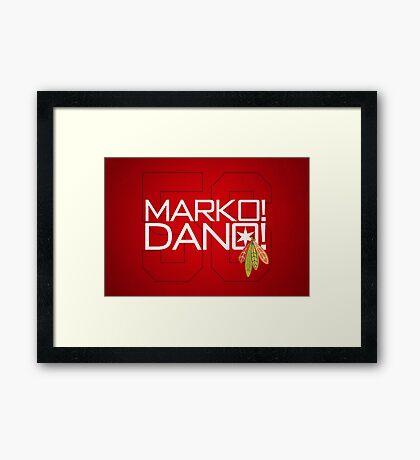 Marko! Dano! Framed Print