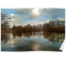 Lakeside Country Park HDR Poster