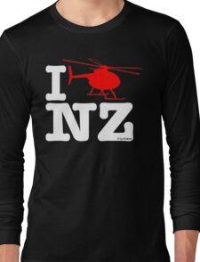 "I ""Fly"" NZ - Chopper - Dark Long Sleeve T-Shirt"