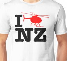 "I ""Fly"" NZ - Chopper - Light Unisex T-Shirt"