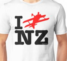 "I ""Fly"" NZ - Aerobatic - Light Unisex T-Shirt"