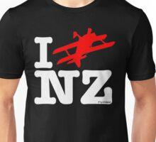 "I ""Fly"" NZ - Aerobatic - Dark Unisex T-Shirt"