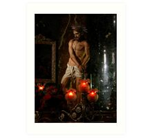 The Scourging At The Pillar Art Print