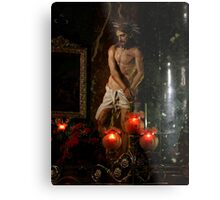 The Scourging At The Pillar Metal Print