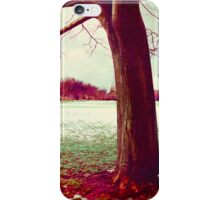 Martian Winter I iPhone Case/Skin