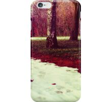 Martian Winter II iPhone Case/Skin