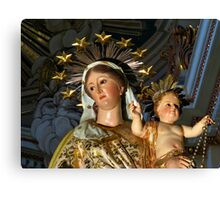 Our Lady of The Rosary Canvas Print