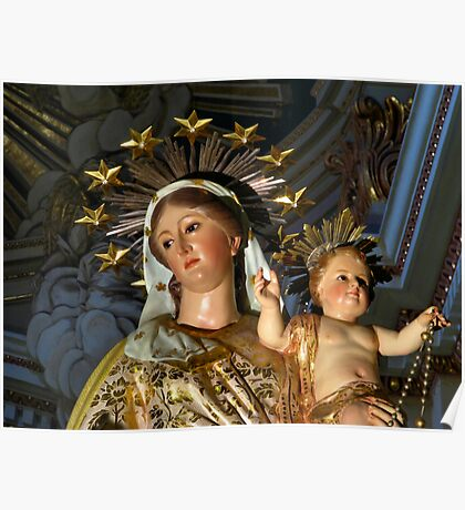 Our Lady of The Rosary Poster