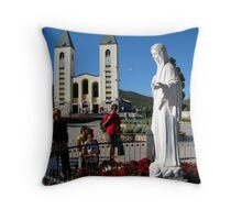 In Medjugorje Throw Pillow