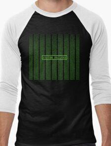 Matrix System Failure Men's Baseball ¾ T-Shirt